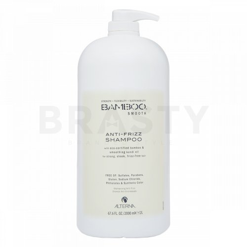 Alterna Bamboo Smooth Anti-Frizz Shampoo šampon proti krepatění vlasů 2000 ml