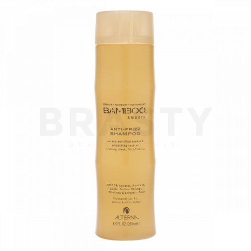 Alterna Bamboo Smooth Anti-Frizz Shampoo Shampoo gegen gekräuseltes Haar 250 ml