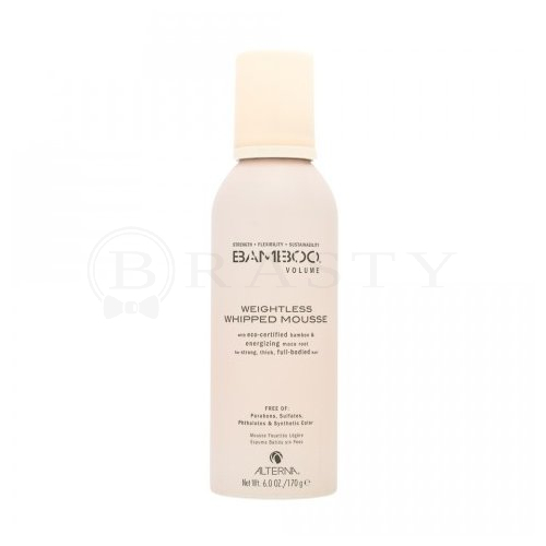 Alterna Bamboo Volume Weightless Whipped Mousse pianka do włosów delikatnych 150 ml