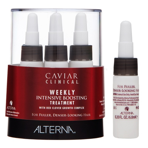 Alterna Caviar Clinical Weekly Intense Boosting Treatment weekly intensive care for thinning hair 4 x 10 ml