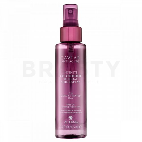 Alterna Caviar Infinite Color Hold Topcoat Spray spray per lucentezza e protezione dei capelli colorati 125 ml