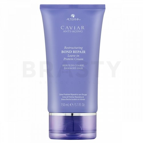 Alterna Caviar Restructuring Bond Repair Leave-in Protein Cream crema per capelli danneggiati 150 ml