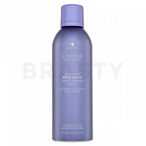 Alterna Caviar Restructuring Bond Repair Leave-in Treatment Mousse schiuma per capelli danneggiati 241 g