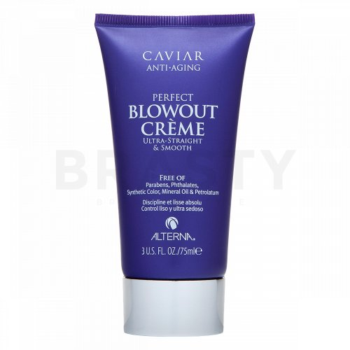 Alterna Caviar Styling Anti-Aging Perfect Blowout Creme Stylingcreme für Wärmestyling der Haare 75 ml