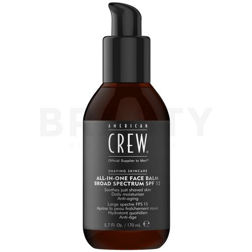 American Crew Shaving Skincare All-In-One Face Balm Broad Spectrum SPF15 beruhigendes After-Shave-Balsam für Männer 170 ml