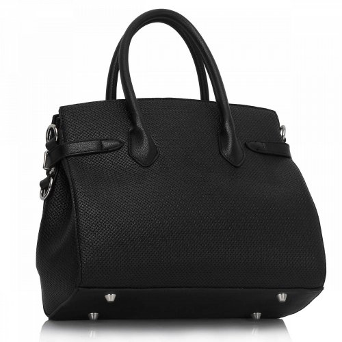 Anna Grace AG00140 handbag tote black