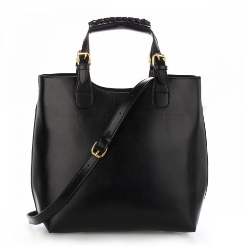 Anna Grace AG00267 handbag tote black