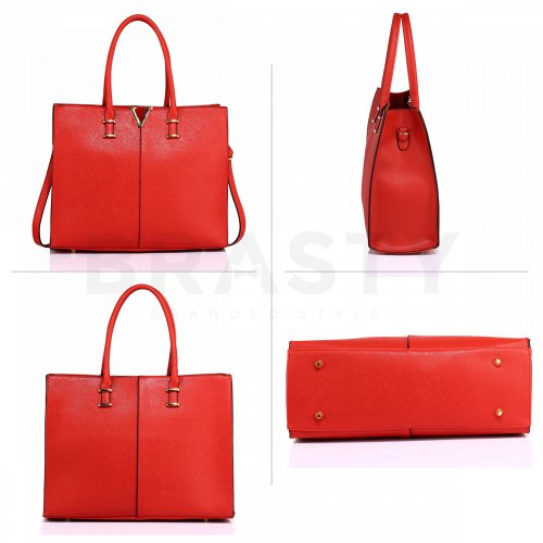 Anna Grace AG00319C handbag shoulder red