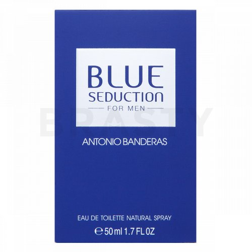 Antonio Banderas Blue Seduction Eau de Toilette für Herren 50 ml