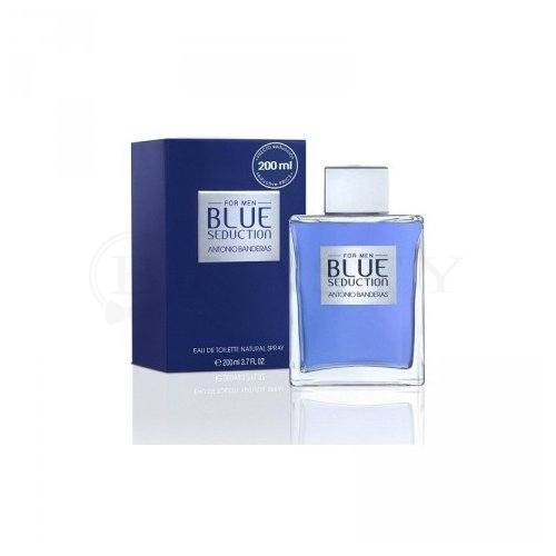 Antonio Banderas Blue Seduction Eau de Toilette para hombre 200 ml