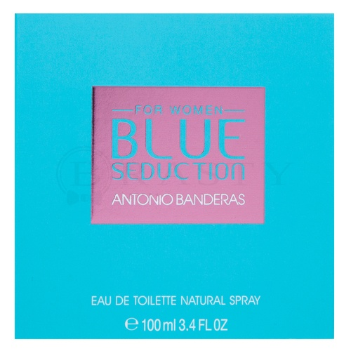 Antonio Banderas Blue Seduction for Women Eau de Toilette nőknek 100 ml