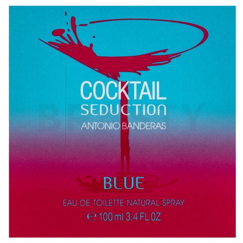 Antonio Banderas Cocktail Seduction Blue Eau de Toilette da donna 100 ml