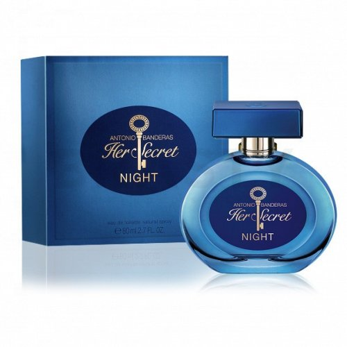 Antonio Banderas Her Secret Night Eau de Toilette da donna 80 ml
