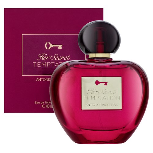 Antonio Banderas Her Secret Temptation Eau de Toilette für Damen 80 ml