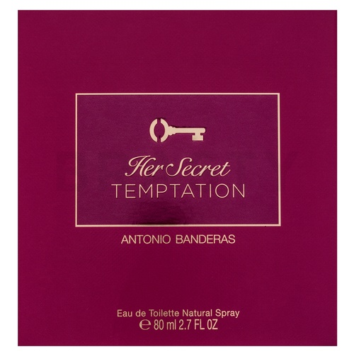 Antonio Banderas Her Secret Temptation Eau de Toilette nőknek 80 ml