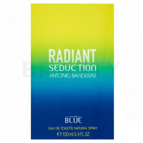 Antonio Banderas Radiant Seduction Blue Eau de Toilette bărbați 100 ml