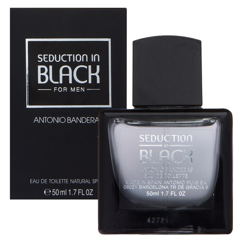 Antonio Banderas Seduction in Black Eau de Toilette férfiaknak 50 ml