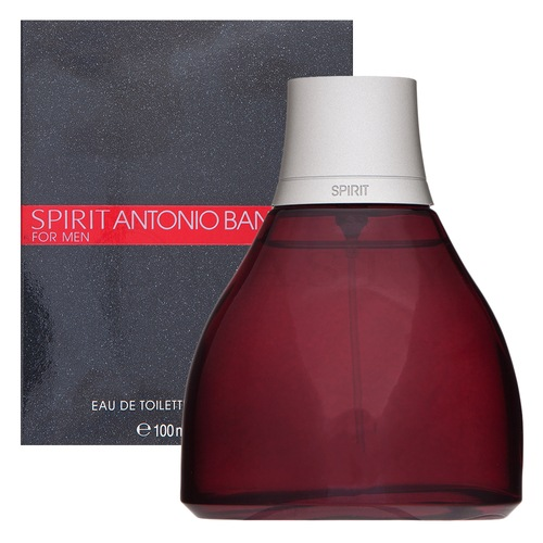 Antonio Banderas Spirit for Men Eau de Toilette para hombre 100 ml