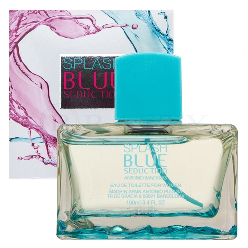 Antonio Banderas Splash Blue Seduction for Women Eau de Toilette nőknek 100 ml