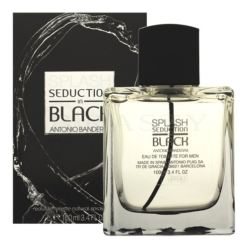 Antonio Banderas Splash Seduction in Black Eau de Toilette bărbați 100 ml