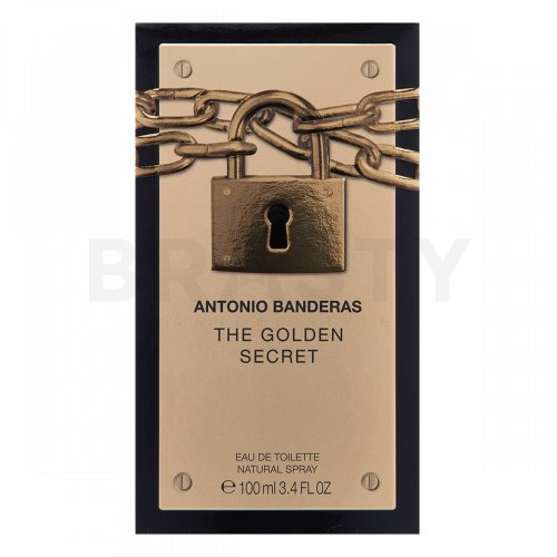 Antonio Banderas The Golden Secret Eau de Toilette für Herren 100 ml