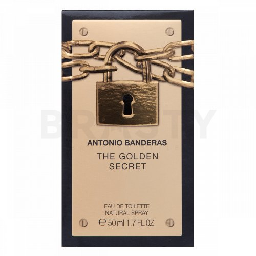 Antonio Banderas The Golden Secret Eau de Toilette bărbați 50 ml