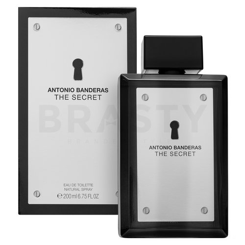Antonio Banderas The Secret Eau de Toilette férfiaknak 200 ml