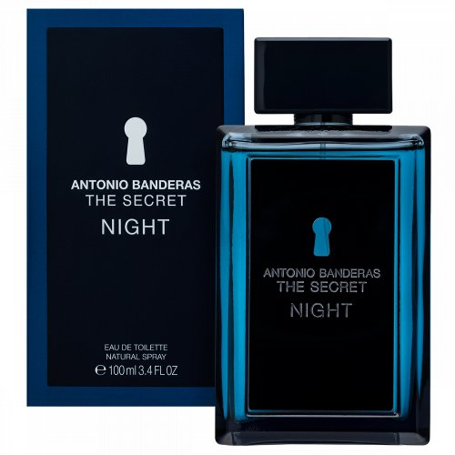 Antonio Banderas The Secret Night Eau de Toilette für Herren 100 ml