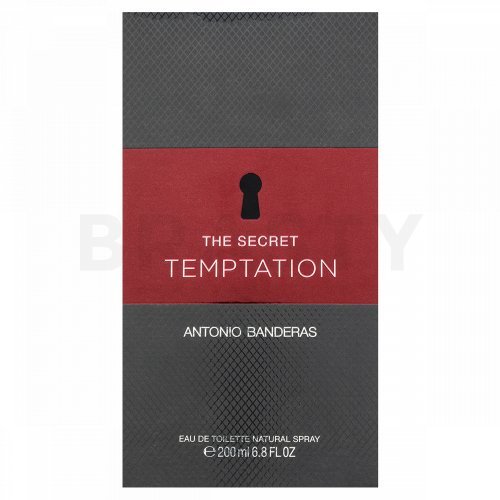 Antonio Banderas The Secret Temptation Eau de Toilette da uomo 200 ml