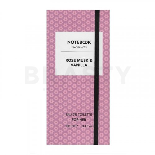 Aquolina Notebook - Rose Musk & Vanilla Eau de Toilette für Damen 100 ml
