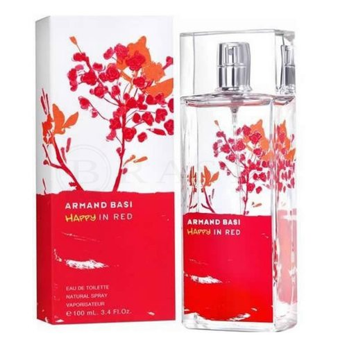 Armand Basi Happy in Red Eau de Toilette da donna 50 ml