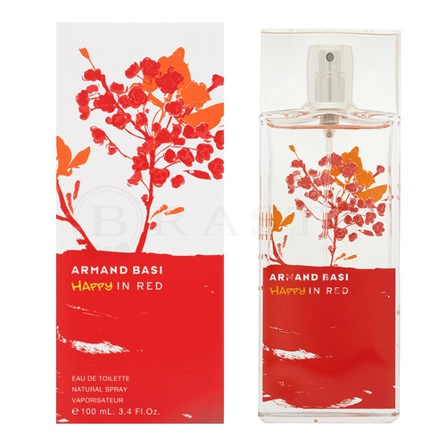 Armand Basi Happy in Red Eau de Toilette para mujer 100 ml