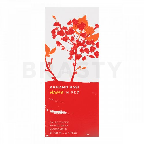 Armand Basi Happy in Red Eau de Toilette bărbați 100 ml