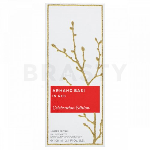 Armand Basi In Red Celebration Edition Eau de Toilette nőknek 100 ml