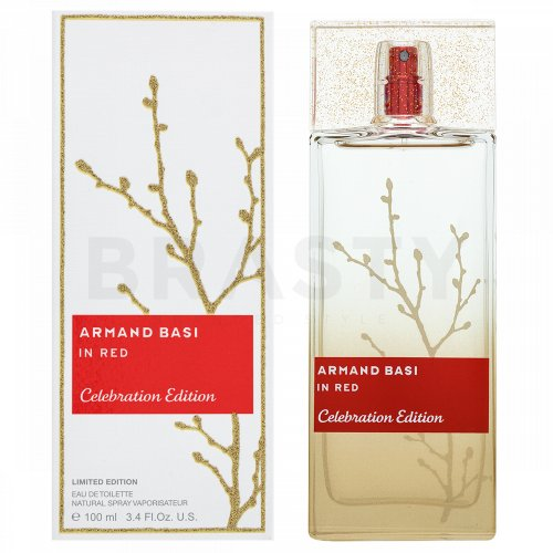 Armand Basi In Red Celebration Edition Eau de Toilette para mujer 100 ml