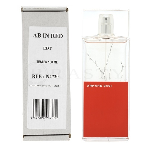Armand Basi In Red Eau de Toilette da donna 100 ml Tester