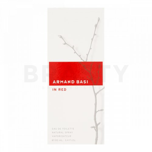 Armand Basi In Red Eau de Toilette para mujer 100 ml