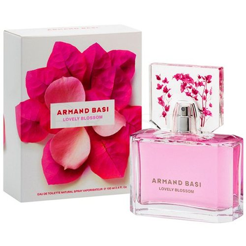 Armand Basi Lovely Blossom Eau de Toilette para mujer 100 ml