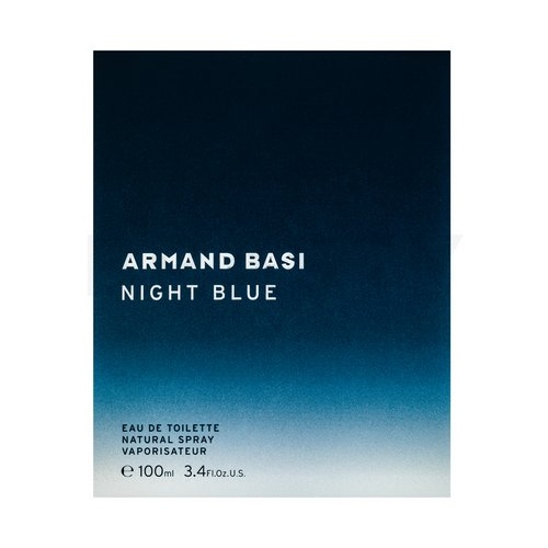 Armand Basi Night Blue Eau de Toilette für Herren 100 ml
