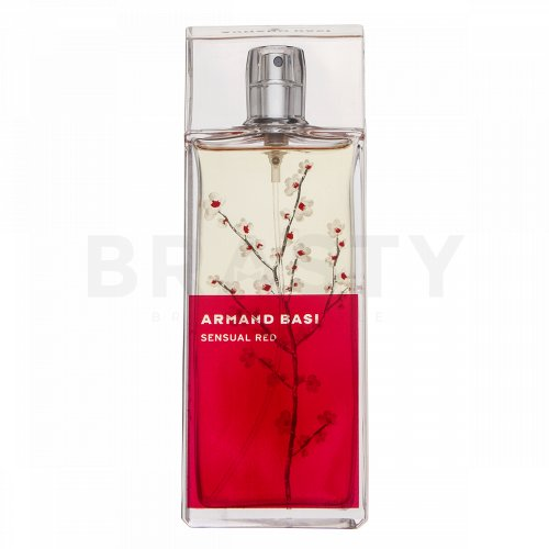 Armand Basi Sensual Red Eau de Toilette da donna 100 ml