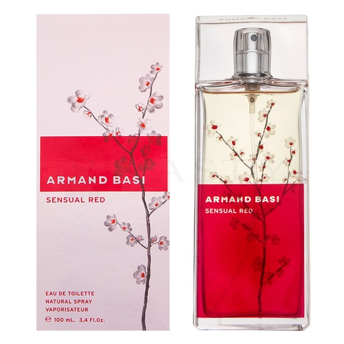 Armand Basi Sensual Red Eau de Toilette femei 100 ml