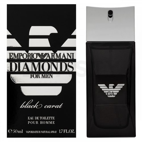 Armani (Giorgio Armani) Diamonds Black Carat Eau de Toilette da uomo 50 ml