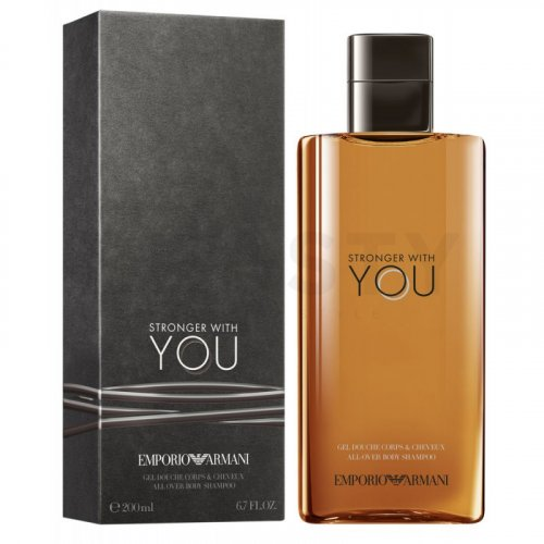 Armani (Giorgio Armani) Emporio Armani Stronger With You Gel de ducha para hombre 200 ml