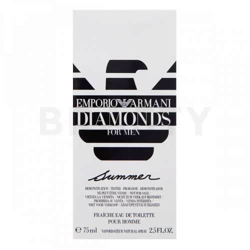 Armani (Giorgio Armani) Emporio Diamonds for Men Summer Eau de Toilette da uomo 75 ml Tester