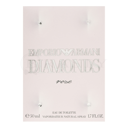 Armani (Giorgio Armani) Emporio Diamonds Rose Eau de Toilette da donna 50 ml
