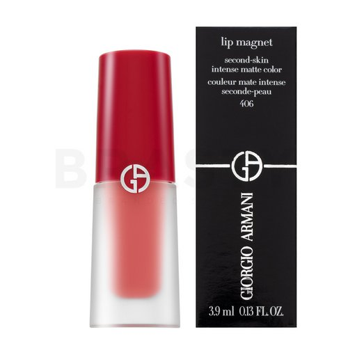 Armani (Giorgio Armani) Lip Magnet Second Skin Intense Matte Color Freeze 406 Ruj de buze lichid, de lunga durata cu efect matifiant 3,9 ml