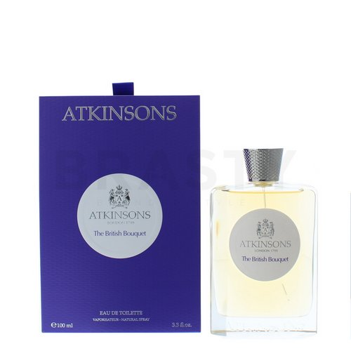 Atkinsons The Birtish Bouquet Eau de Toilette uniszex 100 ml