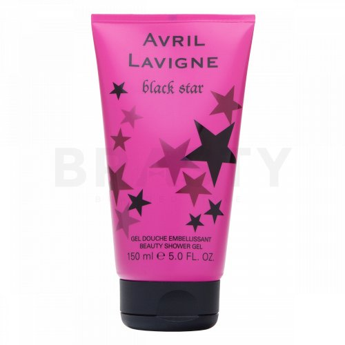 Avril Lavigne Black Star Gel de ducha para mujer 150 ml