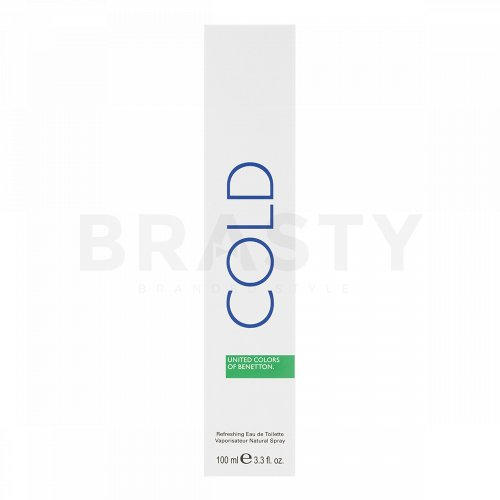 Benetton Cold Eau de Toilette für Herren 100 ml