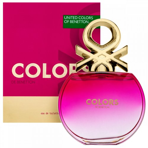 Benetton Colors de Benetton Pink Eau de Toilette femei 80 ml